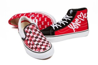 "Curtis Kulig x Vans 2013 Spring ""LOVE ME"" Collection"
