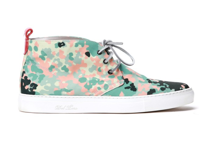 Del Toro South Beach Camo Alto Chukka