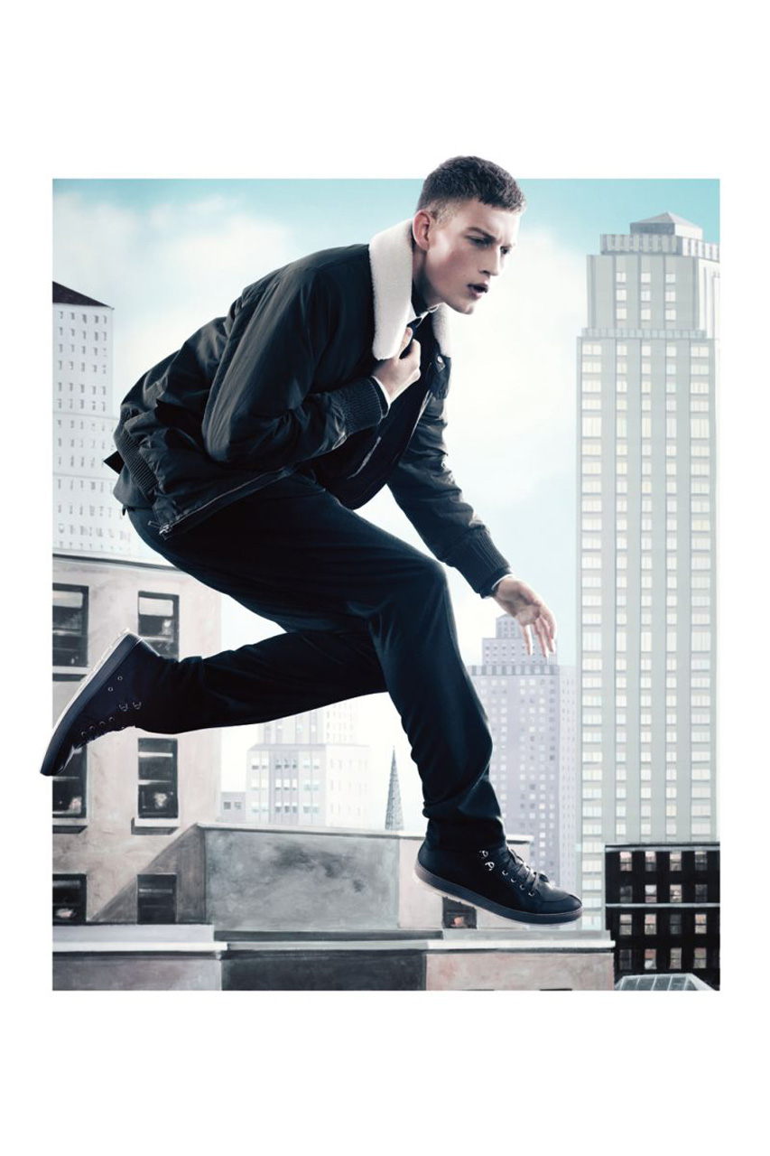 """Dior Homme 2012 Fall/Winter """"City Heights"""" Editorial"""