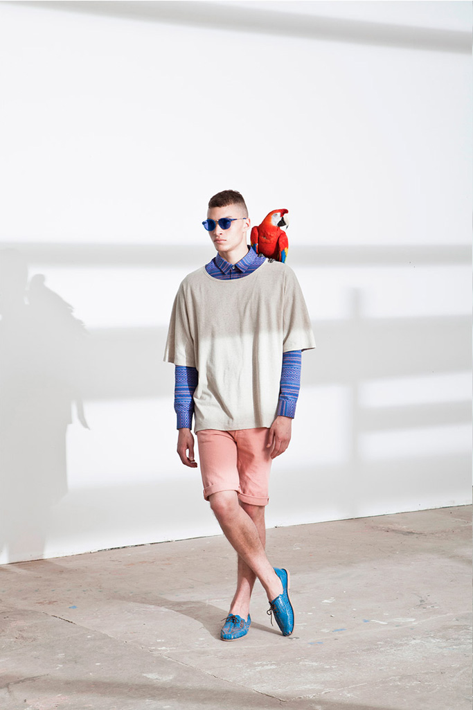 "Études N°2 2013 Spring/Summer ""From Light and Shadow"" Lookbook"
