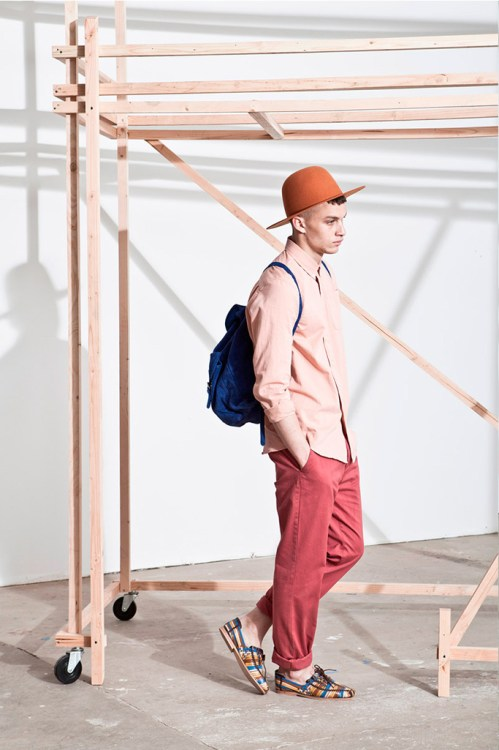 """Études N°2 2013 Spring/Summer """"From Light and Shadow"""" Lookbook"""