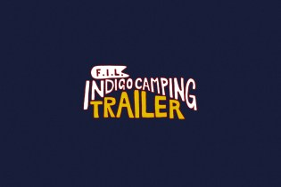 F.I.L. Indigo Camping Trailer