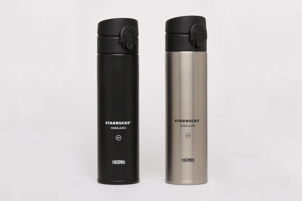 fragment design x Starbucks B-Side Harajuku Beverage Bottle