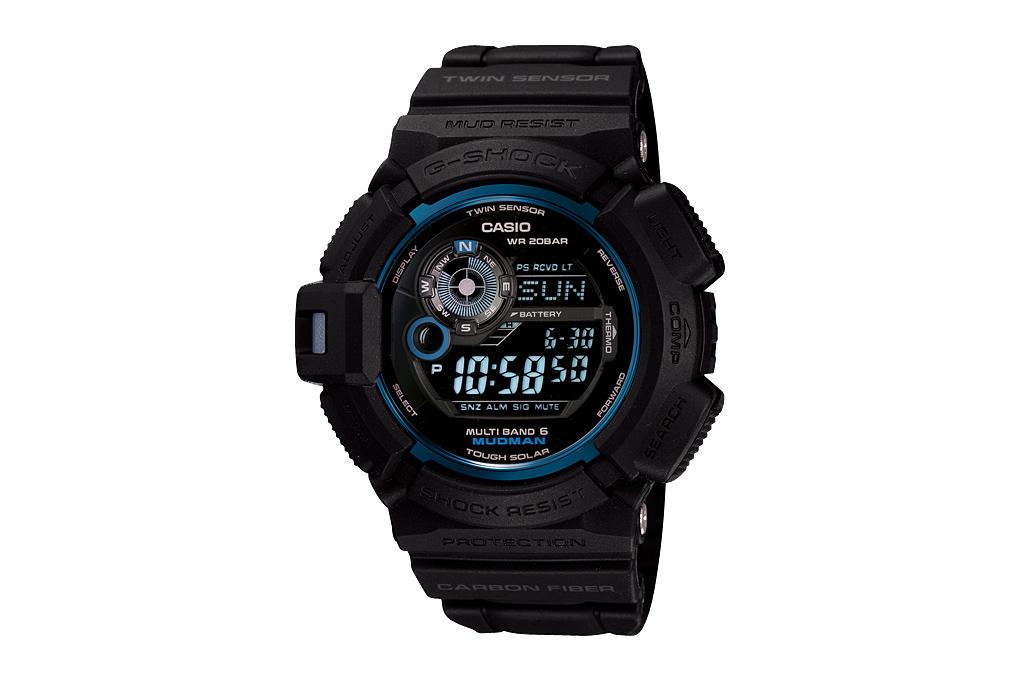 casio g shock gw 9930b initial blue