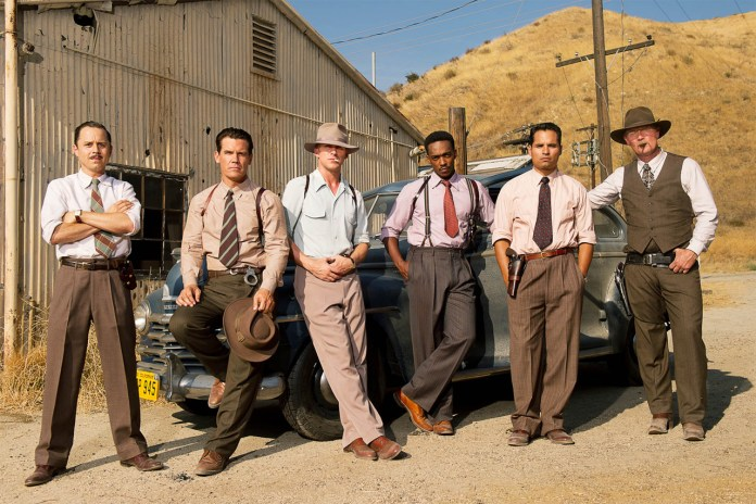 Gangster Squad Costume Designer Mary Zophres Talks About Outfitting Ryan Gosling, Sean Penn and Josh Brolin