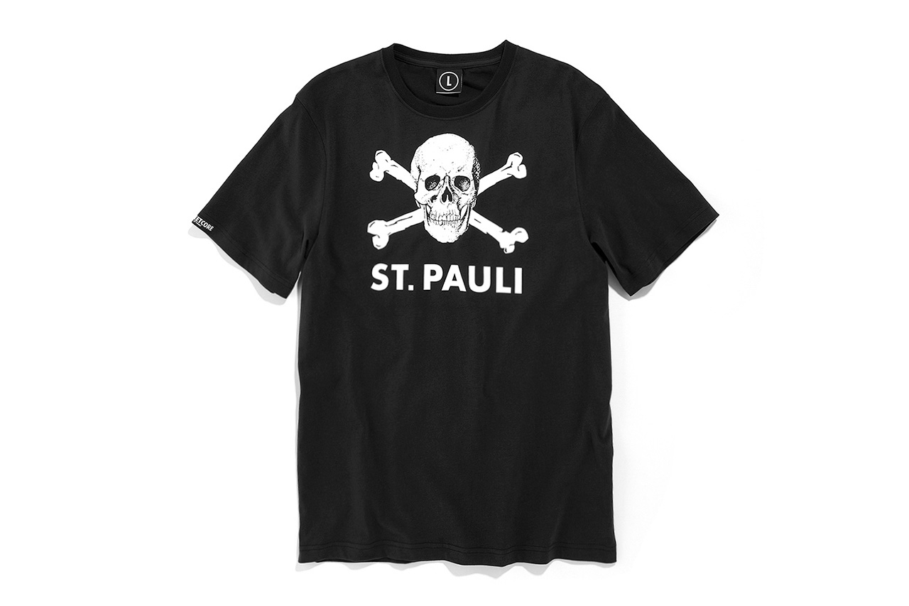 German Soccer Club St. Pauli Launch Their First Season of T-Shirts
