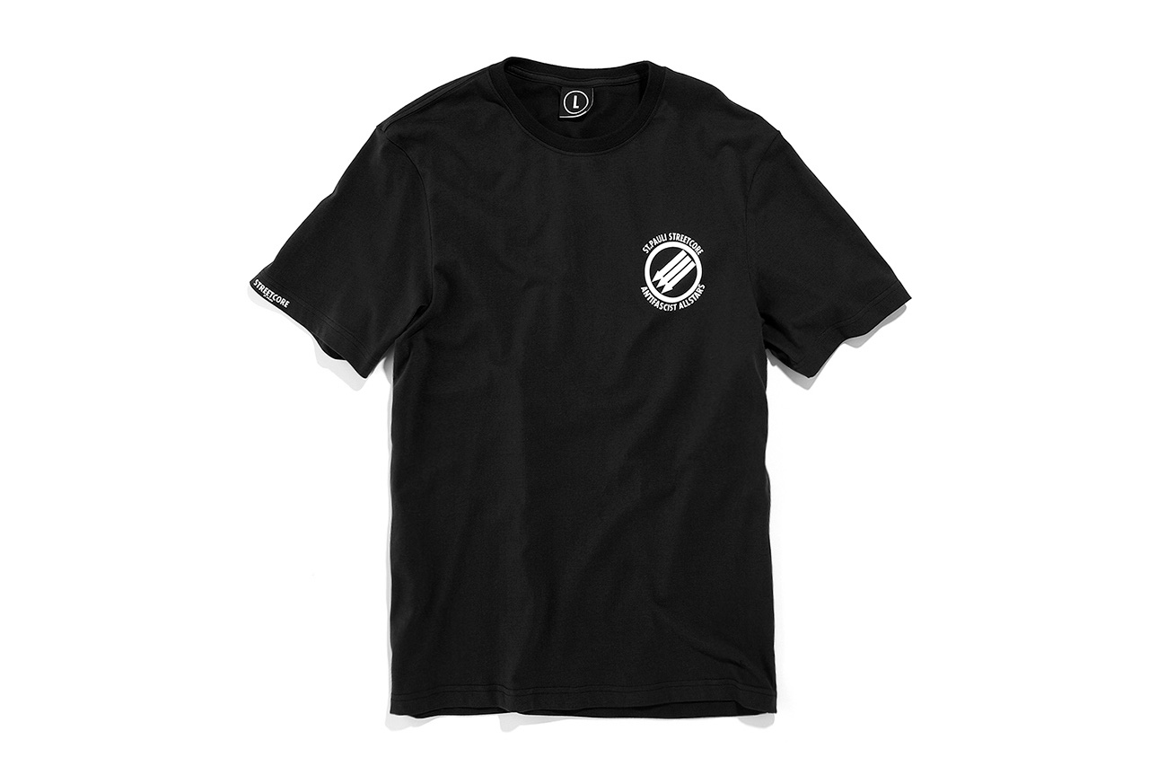 German Soccer Club St. Pauli Launch Their First Season of T-Shirts
