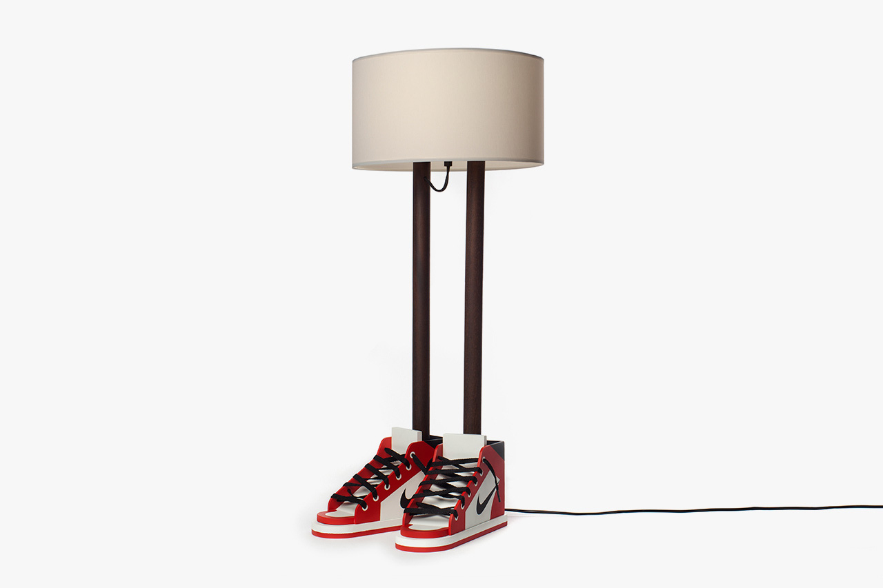 grotesk x case studyo release 6ft 6in sculptural lamp