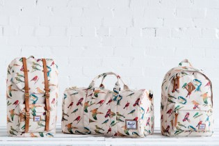 "Herschel Supply Co. 2013 Spring Bad Hills ""Bird Print"" Collection"