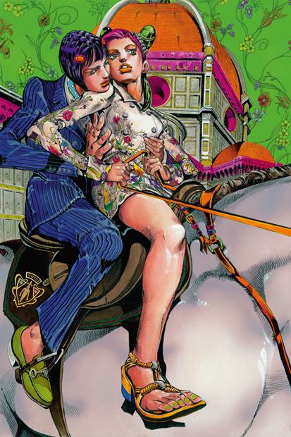 hirohiko arakas manga for gucci