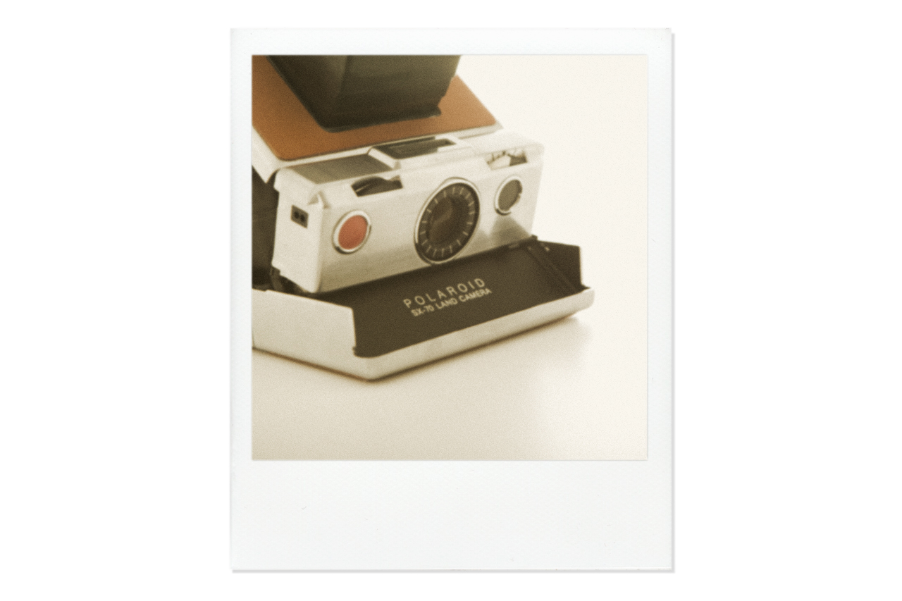 impossible refurbished vintage polaroid sx 70 cameras