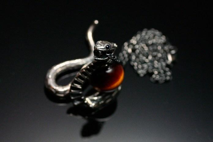 JAM HOME MADE × Katsuhiko Sakamoto 2013 Zodiac Snake Necklace