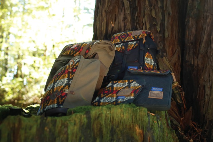 "JanSport x Pendleton x Benny Gold 2013 Fall ""Native"" Collection"