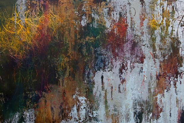 "José Parlá ""Broken Language"" Exhibition @ Haunch of Venison"