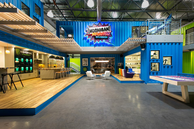 ken blocks hoonigan racing division headquarters