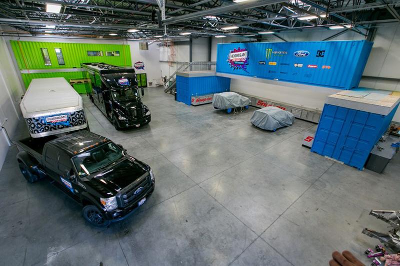 ken blocks hoonigan racing division headquarters