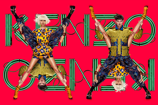 Kenzo 2013 Spring/Summer Campaign