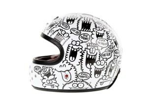 "Kevin Lyons x Les Ateliers Ruby Castel ""Gabriel"" Helmet"