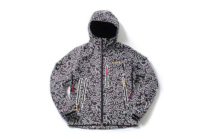 Kinetics x Keith Haring Foundation x Columbia Anders Falls Jacket