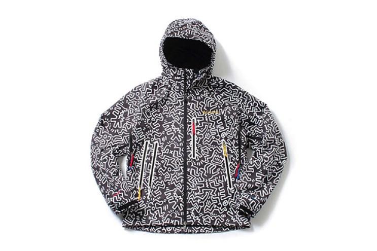 Kinetics x Keith Haring Foundation x Columbia Anders Falls Jacket