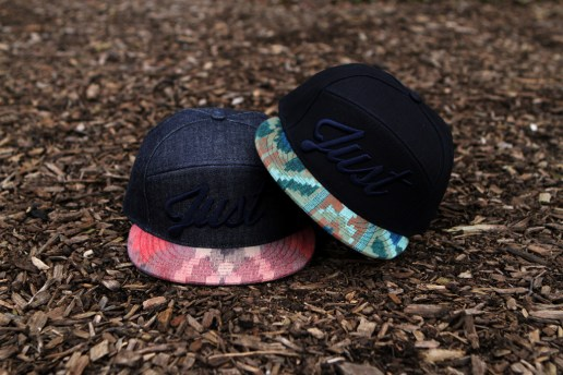 "Kith x Quintin ""Just"" Denim Aztec 6-Panel Caps"