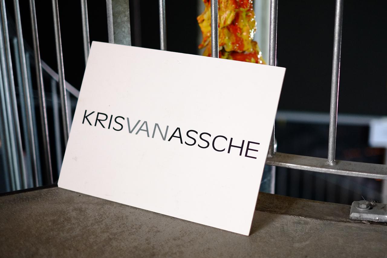 krisvanassche 2013 fall winter backstage visuals