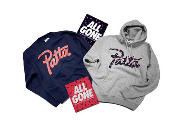 La MJC x Ill Studio x Patta ALL GONE 2012 Paisley Collection