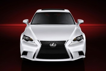 Lexus Releases First Official Photos of the Next Generation IS