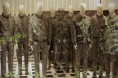 Liu Bolin Teams Up with Valentino for 2013 Spring/Summer Camouflage Collection
