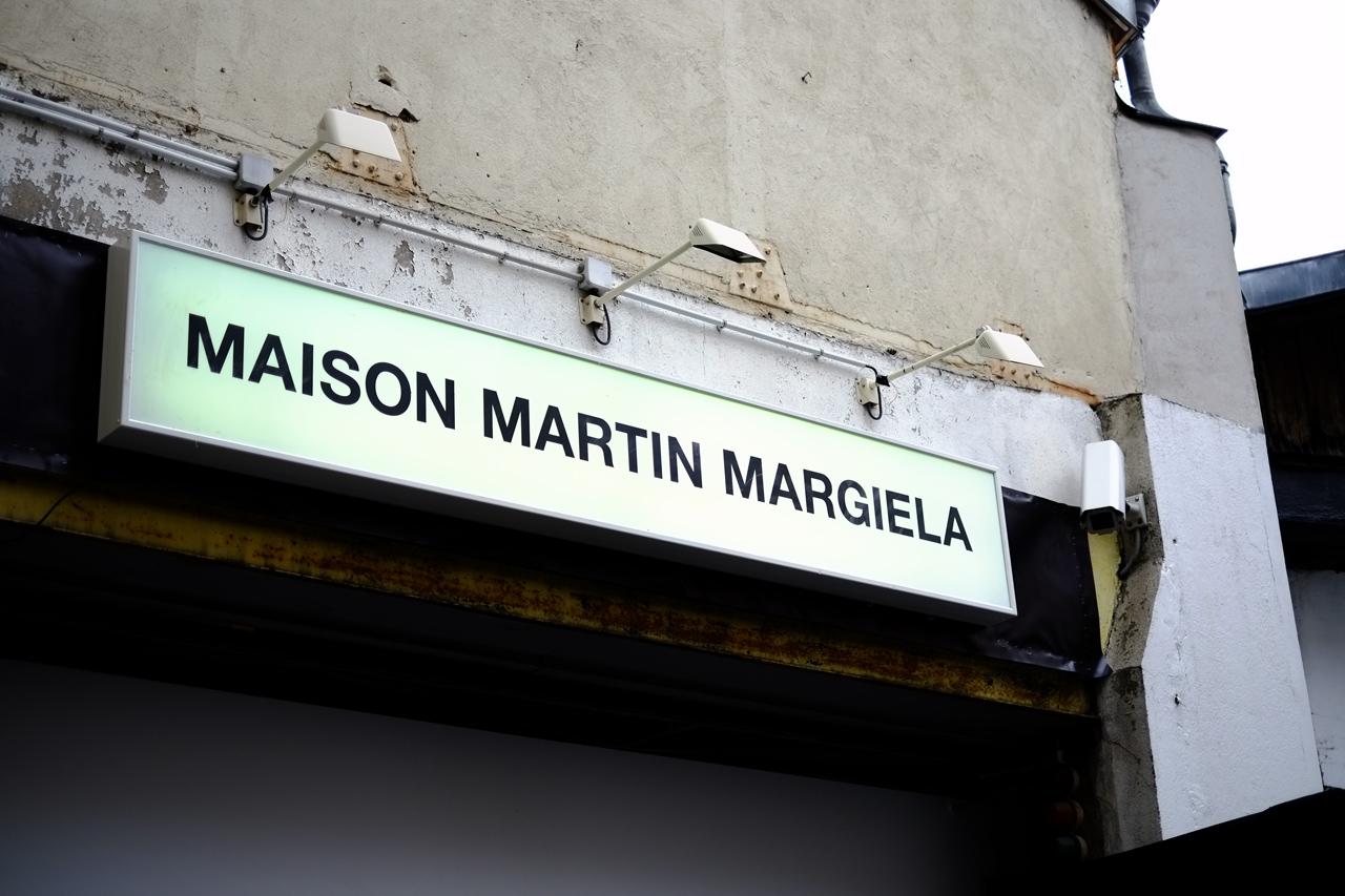 Maison Martin Margiela 2013 Fall/Winter Backstage Visuals