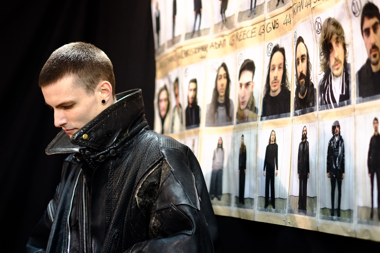 Maison Martin Margiela 2013 Fall/Winter Backstage Visuals
