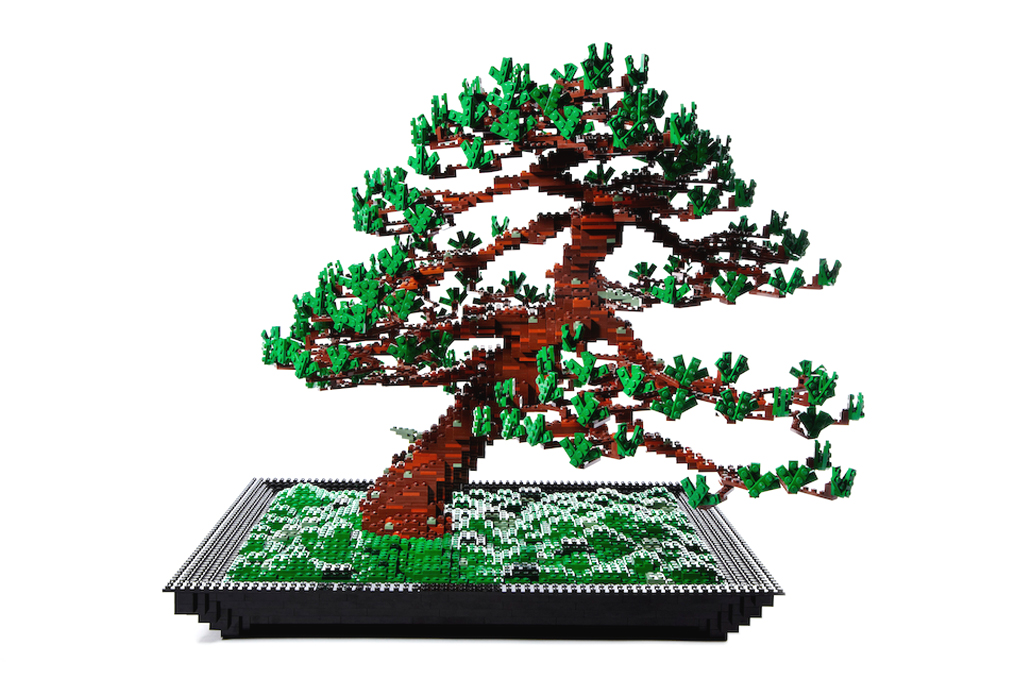 Makoto Azuma Seeks to Make his LEGO Bonsai Pine Tree a Commercial Product