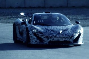 McLaren's P1 Hypercar Hits the Track