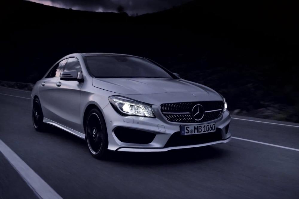 Mercedes-Benz CLA Trailer