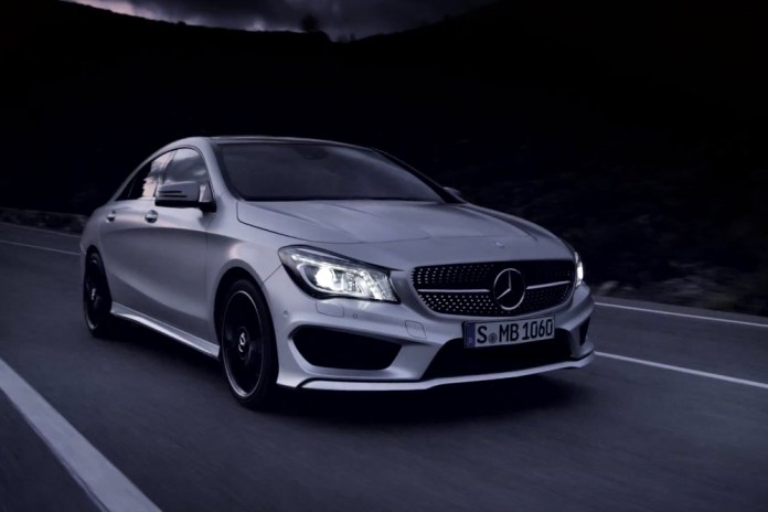 Mercedes-Benz CLA Trailer