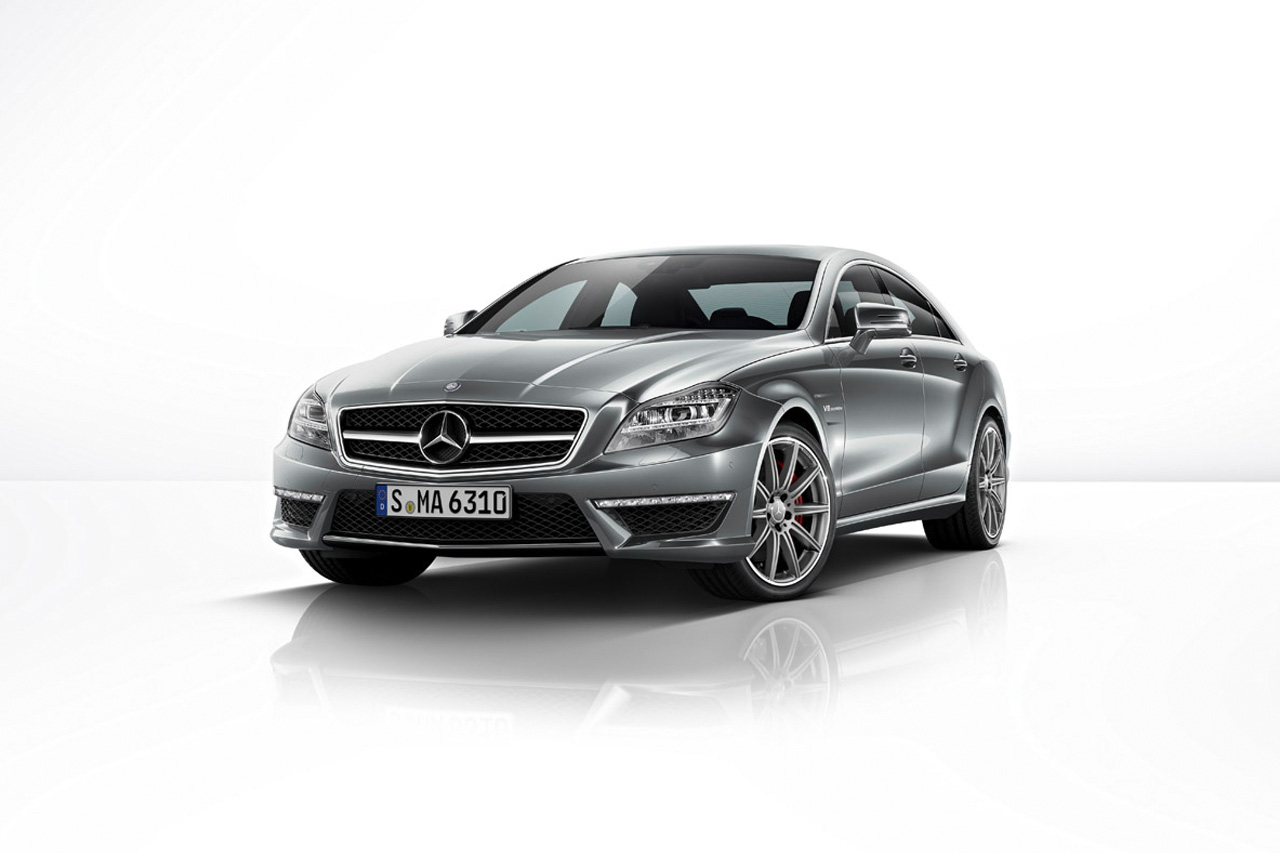 Mercedes benz cls63 amg gets awd power boost from new e63 for Different models of mercedes benz