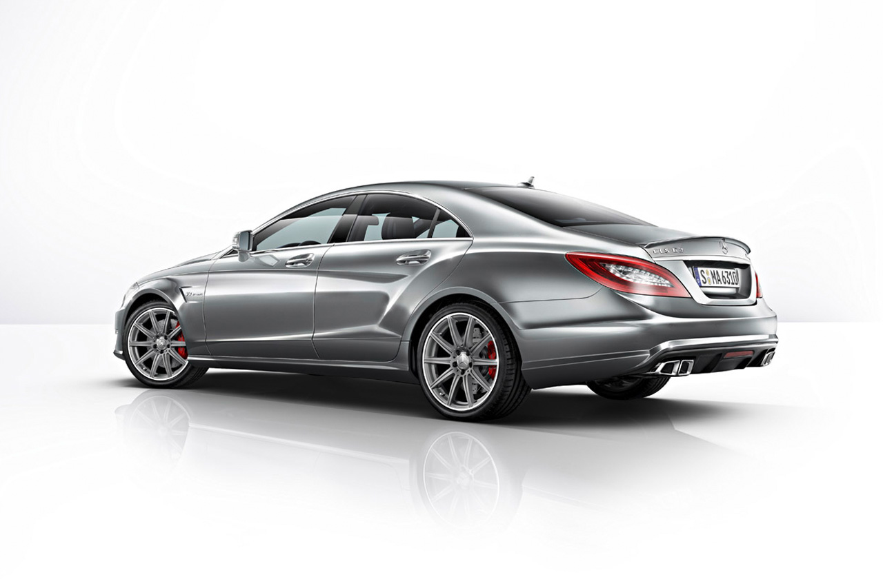 Mercedes-Benz CLS63 AMG Gets AWD Power Boost from New E63 Models