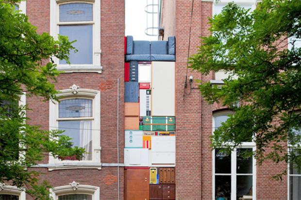 michael johansson presents a real life take on tetris
