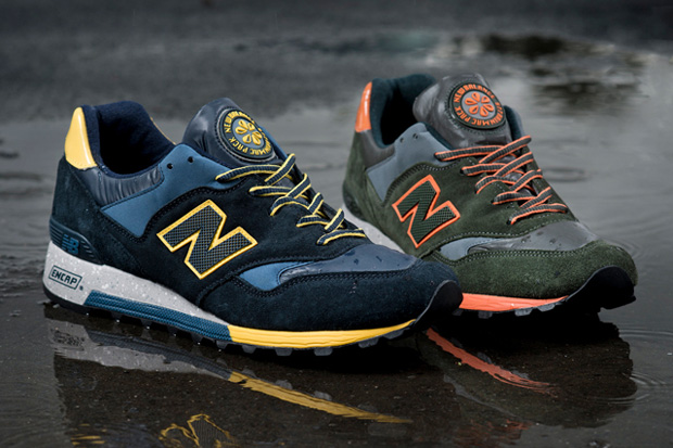 "New Balance 2013 Fall ""Rain Mac"" Pack Preview"