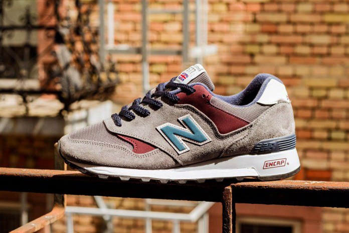 "New Balance 577 D ""Grey/Burgundy"""