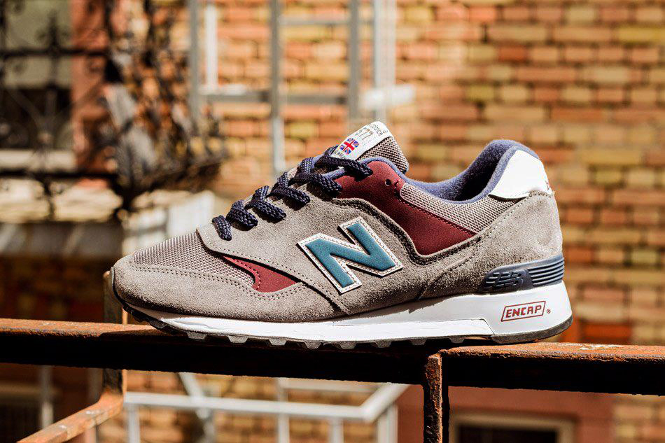 new balance 577 d grey burgundy