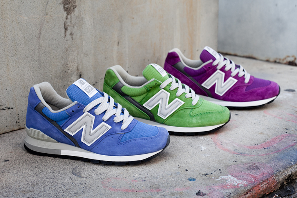"New Balance Made in USA 996 ""Spring Brights"" Pack"