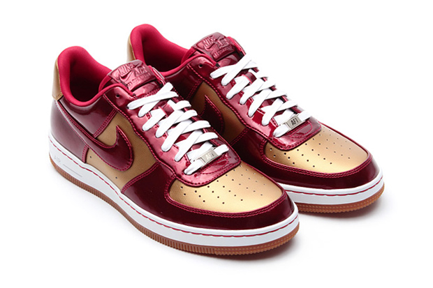 """Nike Air Force 1 Downtown LTH QS """"Flat Gold/Varsity Red"""""""