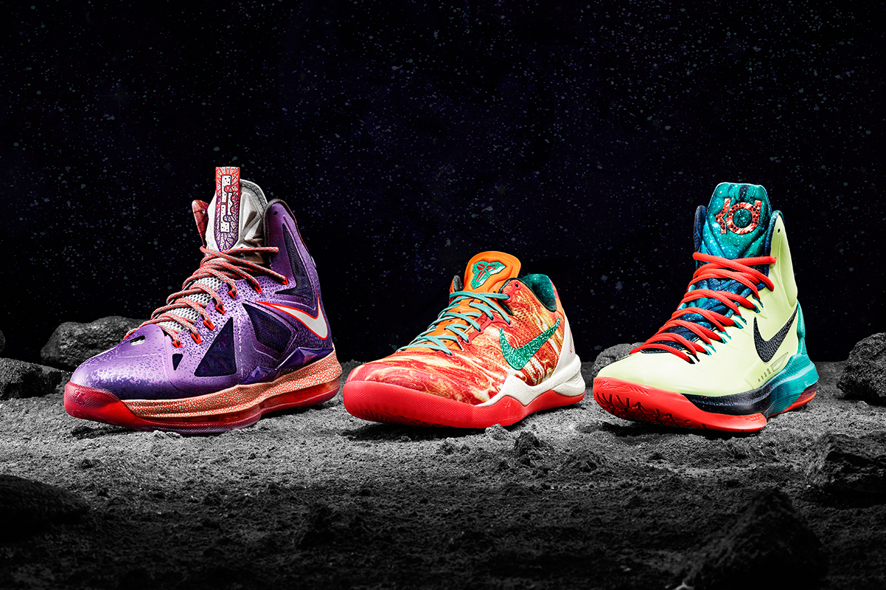 nike basketball 2013 all star footwear collection
