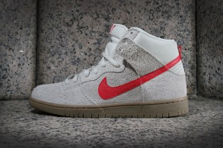 Nike SB Dunk High Pro Birch/Hyper Red