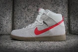 Nike SB Dunk High Pro Birch/Hyper Red