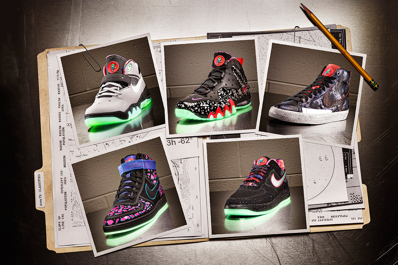 nike sportswear 2013 all star area 72 footwear collection