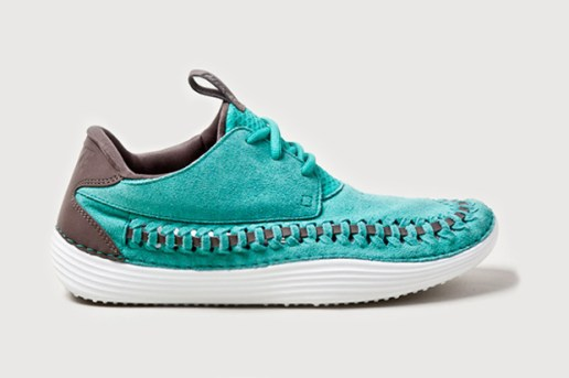 "Nike Solarsoft Moccasin ""Atomic Teal"""