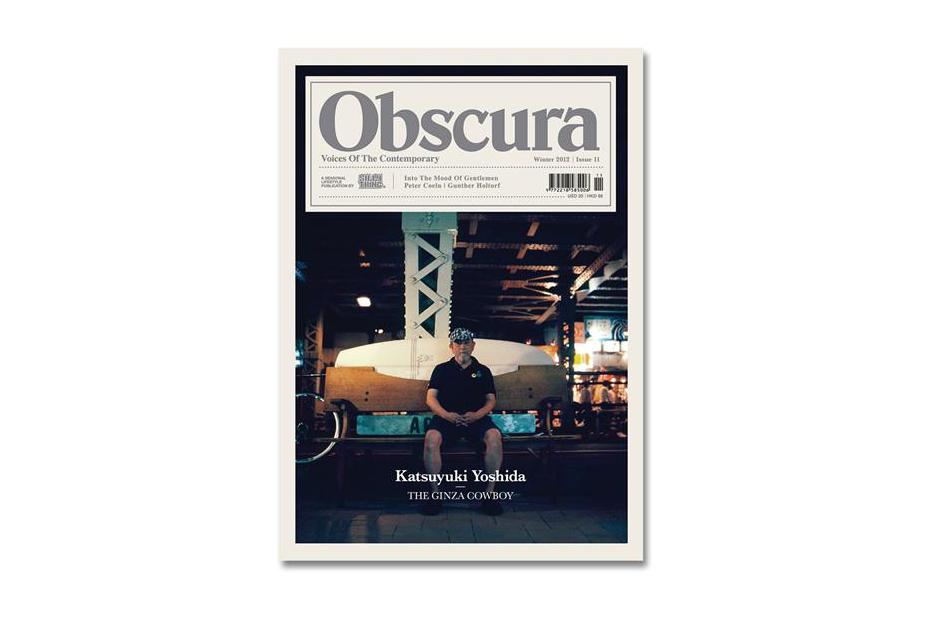 Obscura Issue 11 featuring Katsuyuki Yoshida