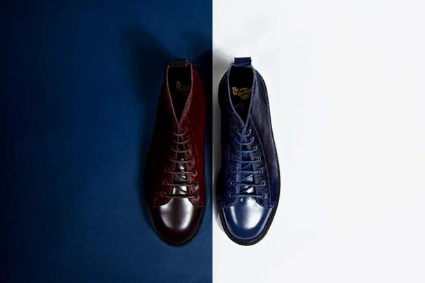 oki-ni x Dr. Martens 2013 Hair-On Monkey Boots